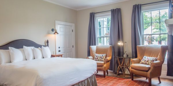 King Guestroom at the McCully House Inn