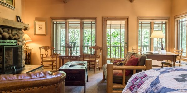 Weasku Inn King Jacuzzi Suite Cabin